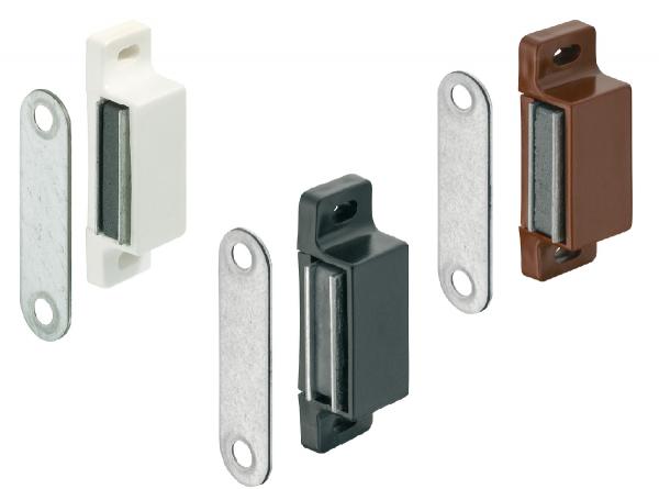 Häfele Magnetschnapper H6006 Haftkraft 3–4 oder 4-5 kg zum Schrauben eckig