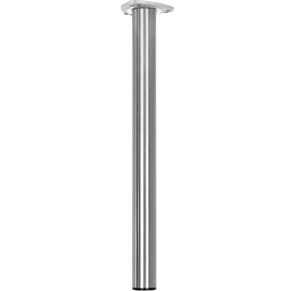 Tischbein FORCE aus Stahl höhenverstellbar 710 - 1100 mm bis 100 kg