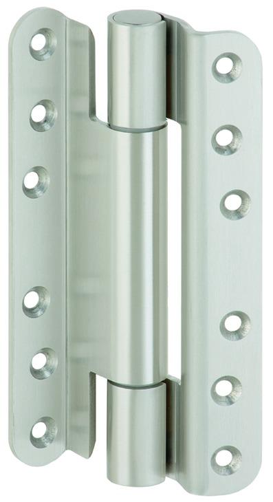 Häfele Startec Objekttürband für Feuer- und Rauchschutz, Größe 160 mm - für gefälzte Türen, Edelstah