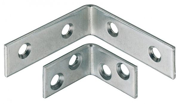 Häfele Stuhlwinkel mit 4 Schraublöcher Stahl oder Edelstahl