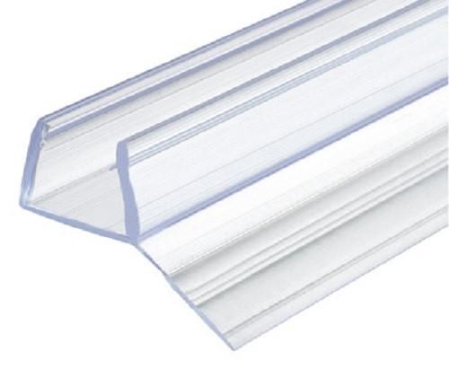 Aquasys Duschdichtung 10-12 mm 135° Glas-Glas Glastürdichtung Türdichtung Kunststoff Wasserabweiser