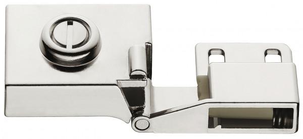 Häfele Glastürscharnier H1413 für Türmontage ohne Glasbohrung Innenanschlag