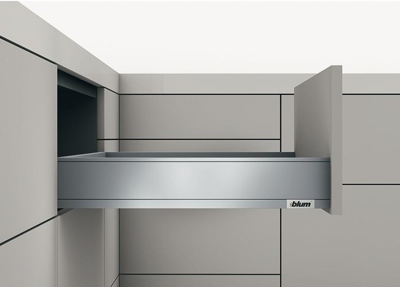 Blum LEGRABOX pure Schubkasten-Garnitur M mit Blumotion verschiedene Längen und Farben