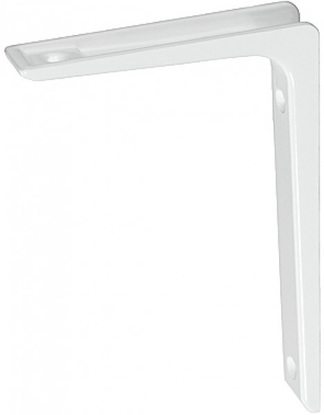 Häfele Regalkonsole H3019 Konsole starr weiß Tragkraft 30-80 kg