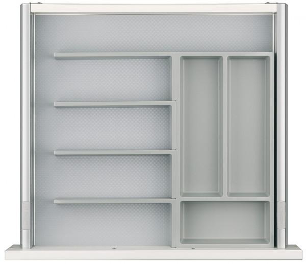 Häfele Einteilungssystem H4132 Set 2 universelles Inneneinteilungssystem für Nennlänge 500 mm