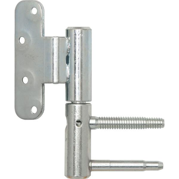 SFS Intec Anuba 3-DIM Türband Größe 20 für stumpfe Türen Stahl verzinkt silberfarbig