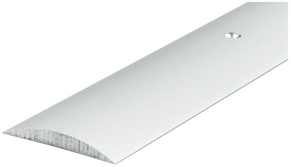 Häfele Türschwelle 090 für Innentüren Halbrundschwelle Aluminium vorgebohrt