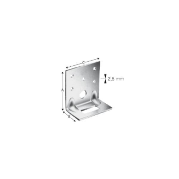 Simpson Winkelverbinder ADR 6035-B feuerverzinkt mit Zulassung