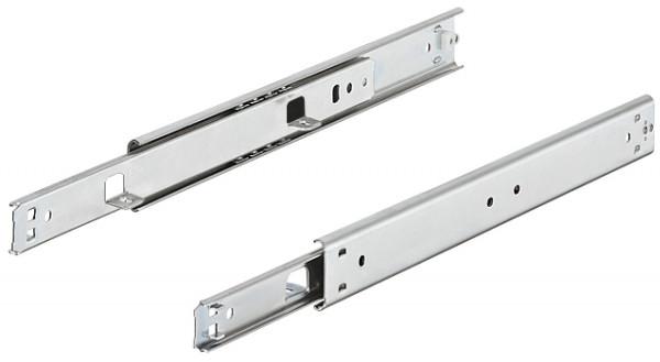 Häfele Schubladenschiene Teilauszug Accuride 2002 Tragkraft bis 35 kg Stahl seitliche Montage