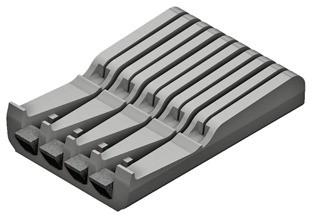 Blum Messerhalter ORGA-LINE für Tandembox Antaro ZSZ.02M0 Kunststoff grau