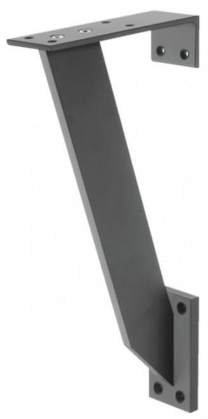 Häfele Barkonsole Aluminium Stütze rechteckig flach zur Montage an die Wand