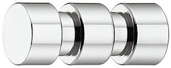 Häfele Garderobenhaken H3823 chrom poliert Kleiderhaken Messing Länge 32 mm