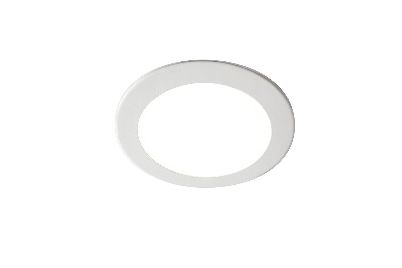 Domus Line Deckenleuchte PLANA Einbauleuchte Aluminium A++