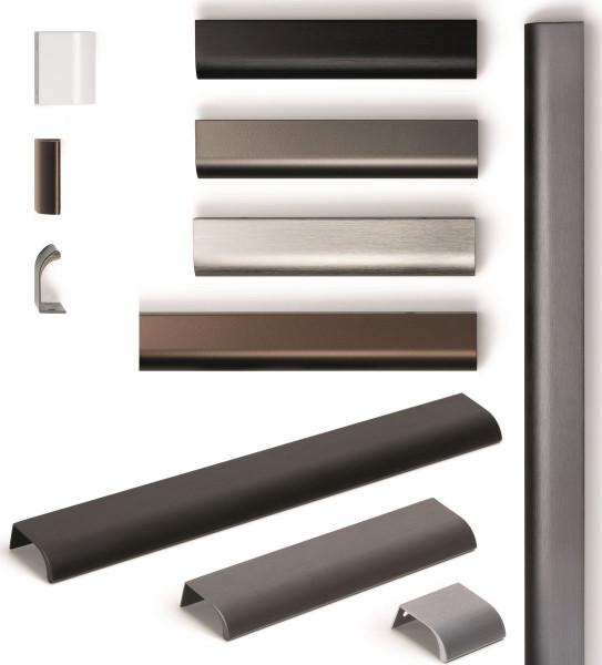 Griffleiste ONA aus Aluminium, BA 32 - 1440 mm