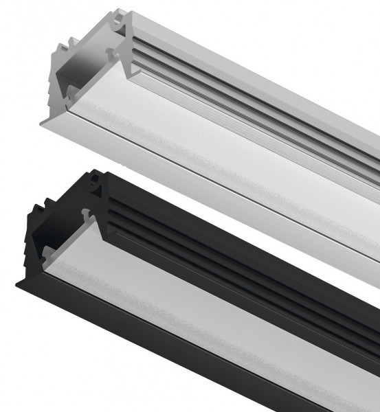 LOOX5 LED-Einbauprofil 1106 aus Aluminium Innenbreite 11 mm