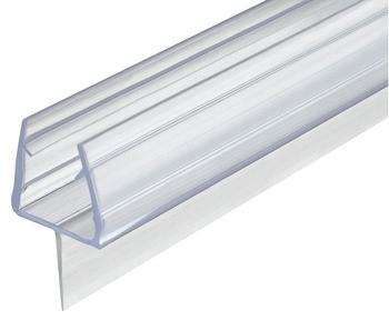 Aquasys Duschdichtung 10-12 mm Bodendichtung Glastürdichtung Türdichtung Kunststoff Wasserabweiser