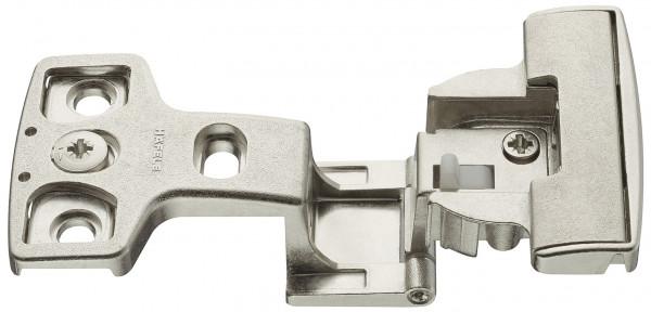 Objektscharnier Aximat 100 SM FS Eckanschlag für Seitenwanddicke 19 mm