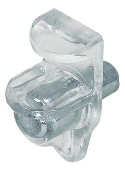 Häfele Bodenträger H3115 für Glasböden Ø 5 mm Glasdicke 5 mm