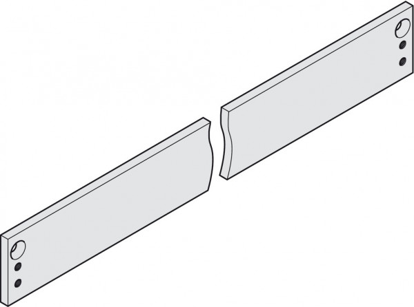 Dorma Montageplatte für Gleitschiene TS 91 / TS 92 und TS 93