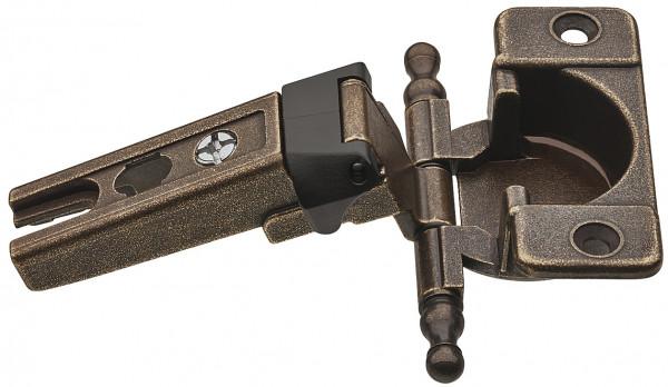 Häfele Topfscharnier für überfälzte Türen mit sichtbarer Rolle 6 mm Fuge