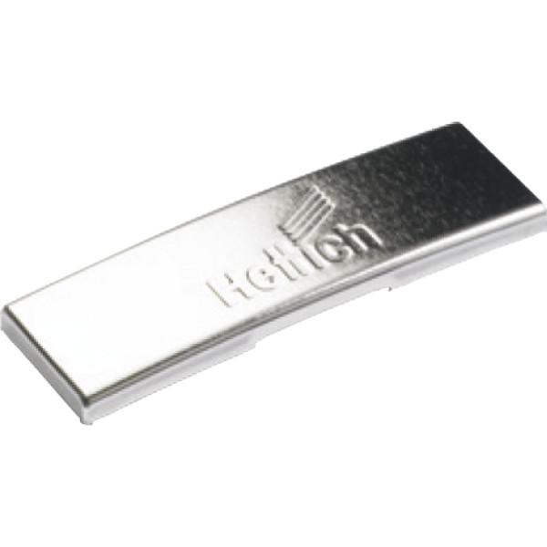 Hettich Sensys Abdeckkappe für Scharnierarm 9088249 Stahl vernickelt
