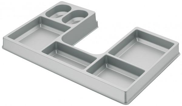 Kosmetikeinsatz H4121 für Schubladen mit Korpusbreite 420 mm