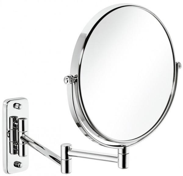 Häfele Kosmetikspiegel H1051 chrom poliert rund