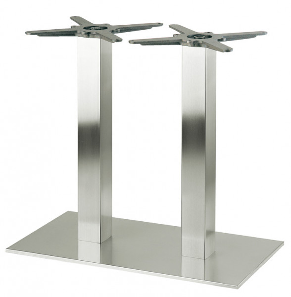Tischgestell Edelstahl Säulen Gestell