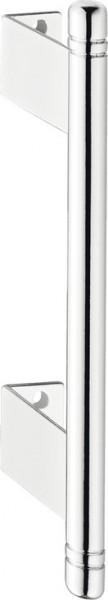 Häfele Möbelgriff SLIDE für Faltschiebetüren chrom poliert Bohrabstand 128 mm