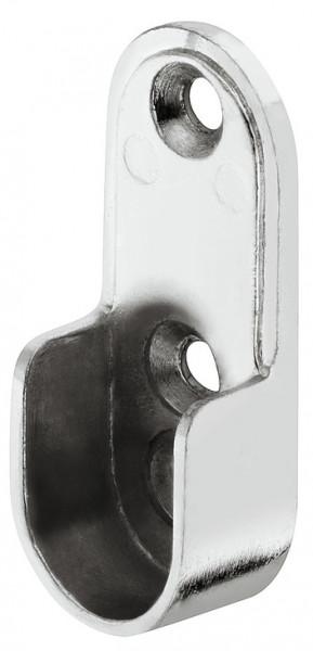 Häfele Schrankrohrlager oval zum Schrauben an die Seitenwand 2 Oberflächen