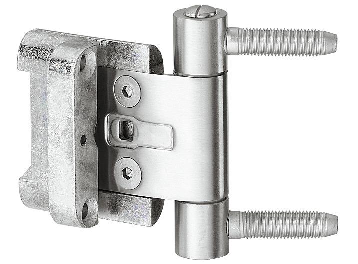 Simonswerk Einbohrband BAKA 2D 20 Rahmenzapfen 57 mm mit Überschlagdichtung Ø 20 mm